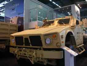 Oshkosh M ATV MRAP Eurosatory 2010