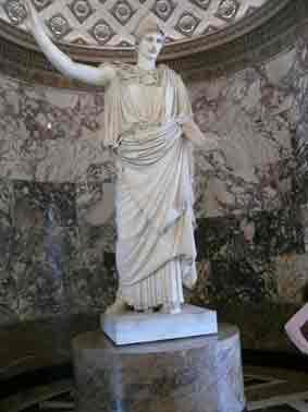 Rome Pallas  Velletri Louvres