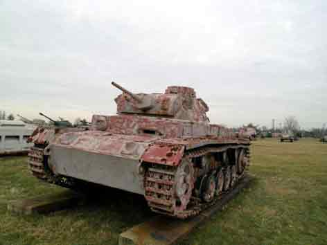 Panzer III Ausf J  Sdkfz 141  Aberdeen