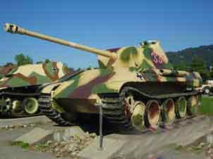 Panther Ausf D oder frühe Ausf  A Thun Tank Museum