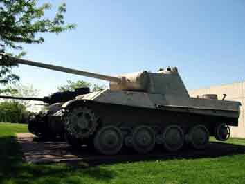 Panther Ausf G Fort Bening