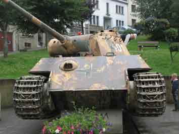 Panther Ausf G Houlalize