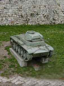 Panzer II Ausf C  Sdkfz 121 Belgrade