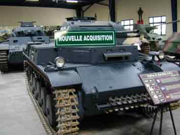 Panzer II Ausf C  Sdkfz 121 Saumur