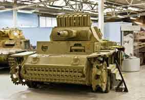 Panzer III Ausf N  Sdkfz 142-2 Bovington