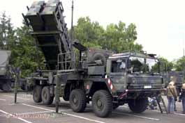 Missile Sol Air MIM-104 Patriot Werfer MAN LKW 10t