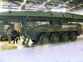 Mowag Piranha III 8X8 REB Eurosatory 2008
