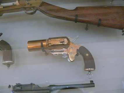 Pistolet Signalisateur Grivolat Genest Mdle 1917 Les Invalides