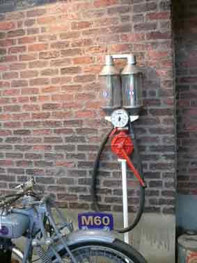 Pompe essence  Japy Bruxelles