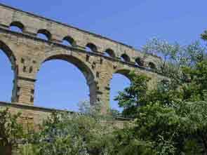 Gard Remoulins Pont du Gard