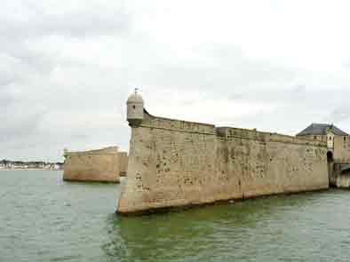 Morbilhan.Port Louis Citadelle