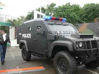 Panhard PVP Police Eurosatory 2012