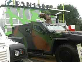 Panhard PVP XL Eurosatory 2010
