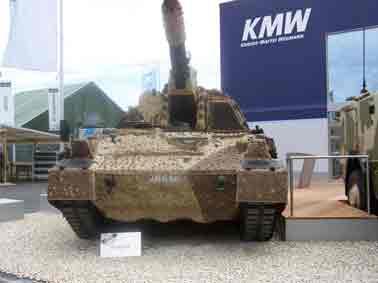 Automoteur PzH 2000 Eurosatory 2012