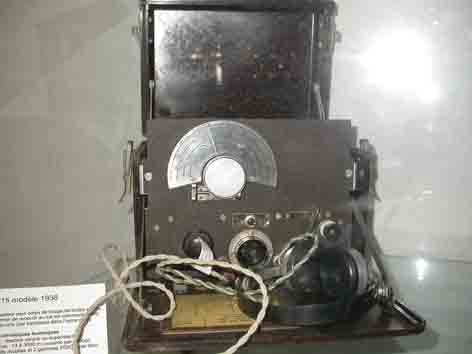 Radio R15 Modele 1936 Saumur
