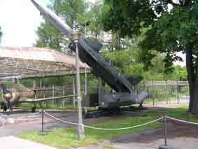 Missile Sol Air SA 2 Guideline S75 Dvina Pologne