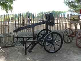 Artillerie Scorpion à roue Arles 2008