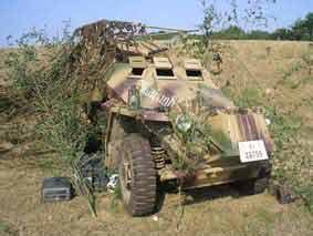 Sd.Kfz 223 Leichter Panzerspähwagen (Replica)