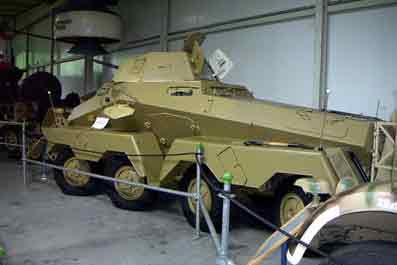 Sd.Kfz.231 Schwere Panzerspähwagen (8-rad) Koblenz