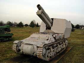 Automoteur Sd.Kfz.135-1-15cm s.FH13 auf Gw