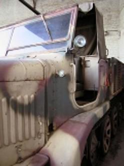Semi Chenille Anti Aérien Sd.Kfz 7-2 Flak 38