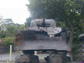 M 4 A 5 Sherman Tank Dozer Port en Bessin