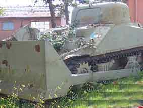 M 4 A 5 Sherman Tank Dozer Rome