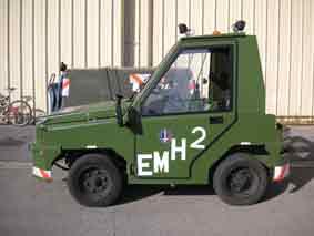 Sovam K22 Tracteur Pistemilitaire aérotransportabl