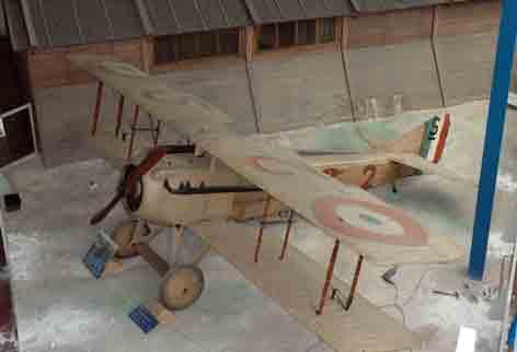 SPAD S VII  avion As C. Guynemer( Paris)