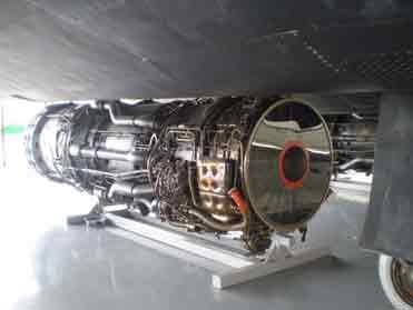 Réacteur Pratt and Whitney J 58  Duxford
