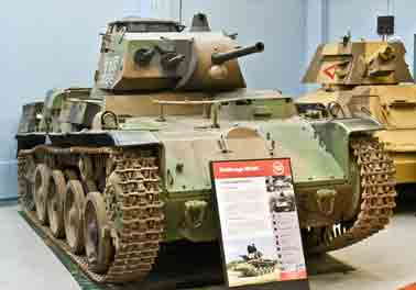 Stridsvagn M40L Bovington