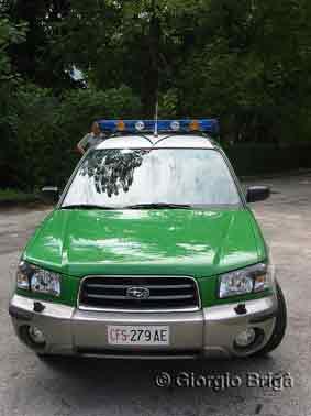 Subaru Forester 2.0 X Corpo Forrestale dello Stato