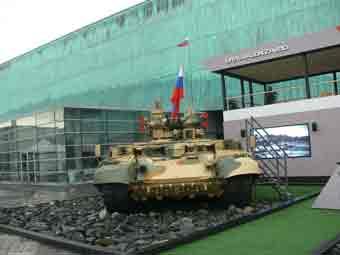 BMPT Terminator Eurosatory 2012