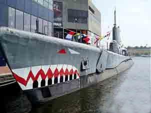 Sous marin USS Tork (Baltimore USA)