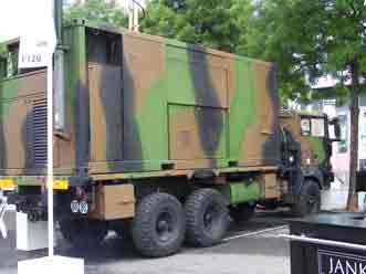 RVI TRM 10000 Shelter ACMH guerre électronique  Eu