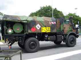 Unimog CCP 3.5 Eurosatory 2012