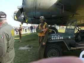 2°GM 1944 USAAF ETO Pilote Bombardier