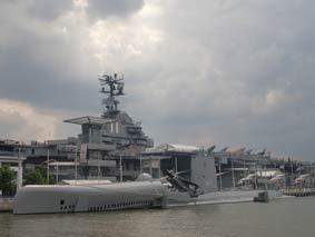 Sous Marin USS Growler SS 577 New York