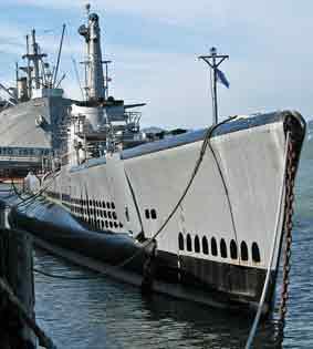 Sous marin USS Pampanino San Francisco