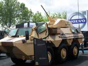 VAB   6H6 Tourelle CMI Defense Eurosatory 2012