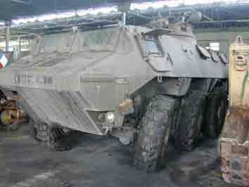 Vab 6X6 Prototype Saumur