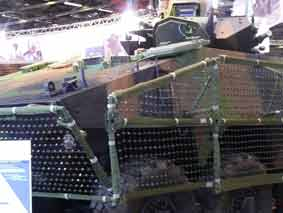 VBCI Protection IED Eurosatory 2010