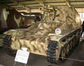 Automoteur Wespe SdKfz 124 Kubinka