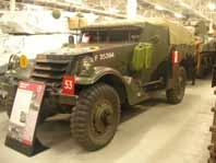 M 3 a1 Scout Car  Bovington