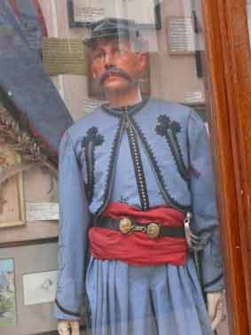 Vatican 1861 Zouave Pontifical Sous Lieutenant