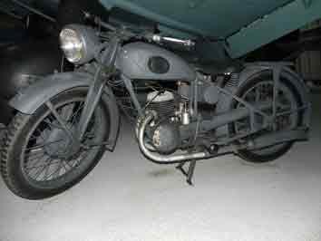 Zundapp Leichtes Kraftrad DB 200 Hendon