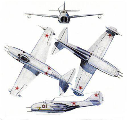 mig 9 was roughly comparable to its contemporaries such as the us lockheed p 80 shooting star however aircraft design was moving rapidly at the time and