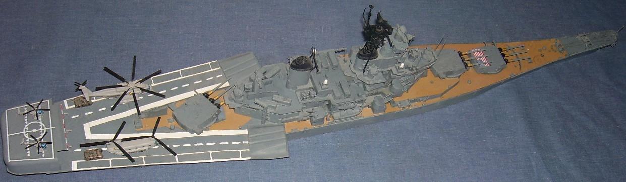 Usa Battle Ship Uss New Jersey Bb62 English Version