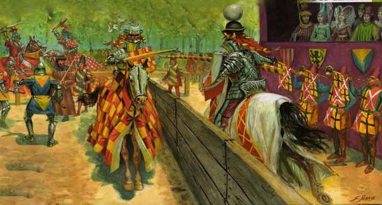 Connu Moyen Age Chevalier Le Tournoi ( Beaugé) :Maquetland.com:: Le  SO77