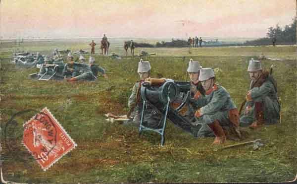 bataille de la Marne 1914 MG01couleur